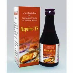 Cyproheptadine Tricholine Sorbitol Syrups