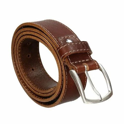 Brown Genuine Leather Promotional Gents Belt