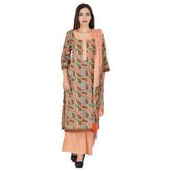 Aaditri Clothing Cotton Ladies Suits