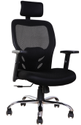 Mesh Office Chairs with Head Rest and Lumber Support