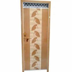 Pre Laminated Decorative PVC Bathroom Door