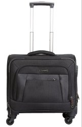 Smooth Spinner Wheel Black Overnight Laptop Trolley Bag, For Travelling, Model No.: Spinnerz-803