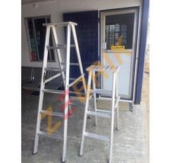 Aluminium Double Step Trestle Ladder