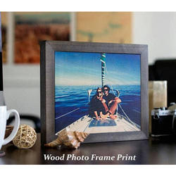 Wood Photo Frame Printing Service