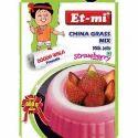 Strawberry Instant China Grass Mix Milk Jelly