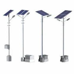 Solar Street Light Pole In Vadodara सोलर स्ट्रीट लाइट पोल