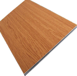 Wooden Texture ACP Sheet, Size: 1220 x 2440 mm