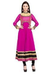 Floral Embroidered Casual Tunics