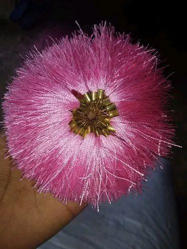 Pink Silk Tassel