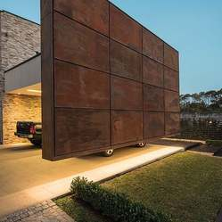 Corten Steel Wall Cladding