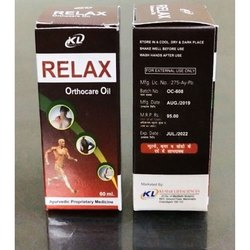 RELAX Orthocare Oil, Packaging Size: 60 ml, Local Apply