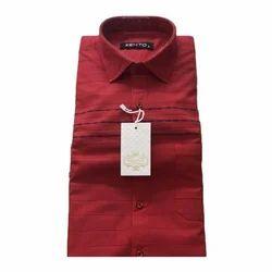 Linen Plain,Checked & Printed Mens Casual Shirt (Kento)