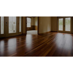 Idzines Brown PVC Flooring Plank, For Commercial, Thickness: 2 Mm