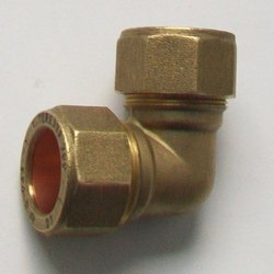 Brass Compression Elbow, Size: 3-7 Inch, Packaging Type: Box