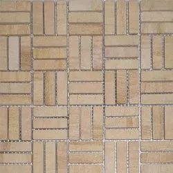 Capstona Stone Mosaics H P Teak Tiles
