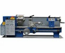 HIPAT Bench Lathe Machine, Automation Grade: Semi-Automatic