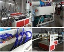 PE Carbon Spiral Pipe Machine Extrusion Line
