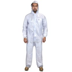KD Waterproof Rain Coats for Men with Jacket and Pant