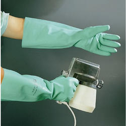 Rubber Long Nitrile Gloves, for Industrial
