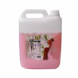 Livewell Strawberry Beauty Herbal Shower Gel, Packaging Size: 5 Litre, HDPE Can