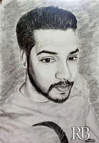 Art Sketch, Size: A4