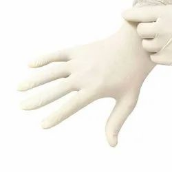 Examination White Latex Gloves