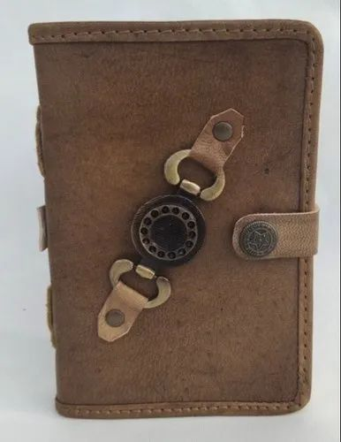 ANTIQUE BUTTON CLOSURE LEATHER JOURNALS