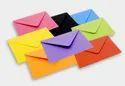 Coloured Paper Envelope