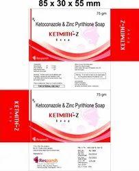 Ketoconazole and Zinc Pyrithione Soap