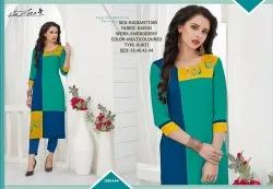 Rachna Rayon Delicated Embroidery Work Radiant Catalog Kurti For Women 5