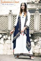 M And In Stock (Sizes Available On Bulk Order Above 10 Pieces) Stitched Ladies Designer Rayon Party Wear Long Kurti