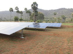 80 Kw Solar Power Plant On Grid Systems Ground Mounted