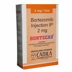 2 mg Bortecad Bortezomib Injection IP