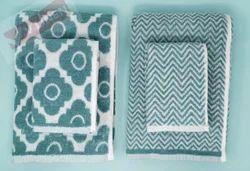 Jacquard Terry Bath Towel