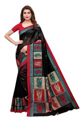 NEW PRINTED BHAGALPURI SAREE