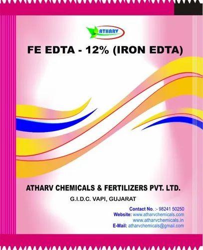 Chelated Iron (Ferric EDTA 12%) - Atharv Chemicals
