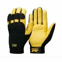 Rubber Golden Eagle Safety Gloves