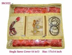 Single Saree Cover (4 in 1)