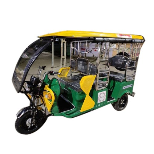 Kaizen Battery Operated Rickshaw, Vehicle Capacity: 4 Seater, Seating Capacity: 5 Seater