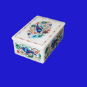 Hand Crafted India Marble Trinket Box