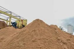 Graded Sand for Construction
