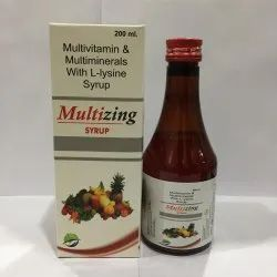 Multivitamin & Miltiminerals With L lysine Syrup