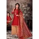 Printed Georgette Palazzo Suit