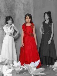 Designer Gown Kid's Wear