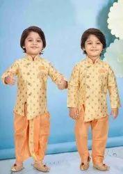 Kids Boys Kurta Dhoti Jacket