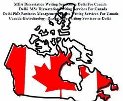 Canada Dissertation Writing Services