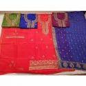 Ladies Unstitched Embroidered Salwar Kameez