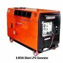 8.5kva Silent Lpg Generator, 8.5 Kva, 250 V