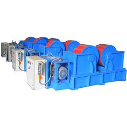 Industrial Coupling Shaft Type Welding Rotator