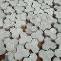 Trihex Cement Interlocking Tiles